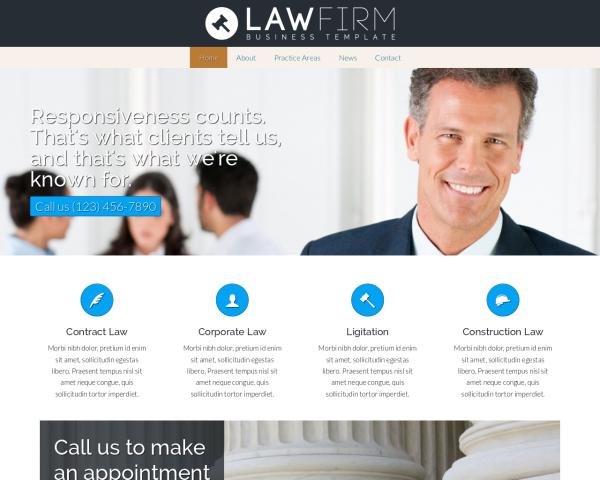 anwaltskanzlei-webdesign Webdesign Vorlagen