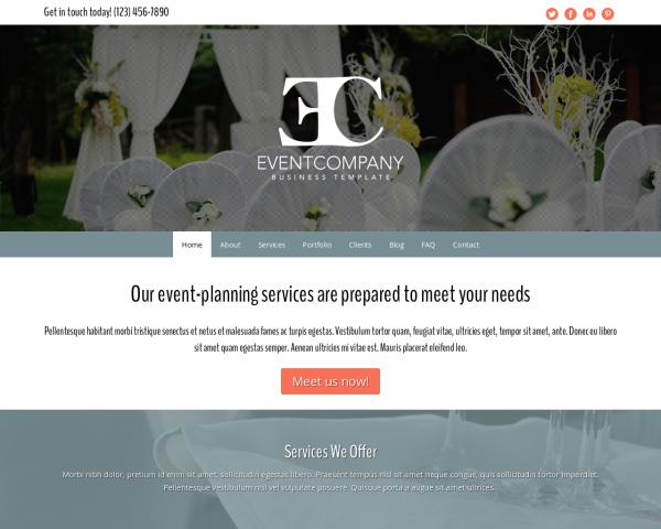 eventagentur-webdesign1 Webdesign Vorlagen