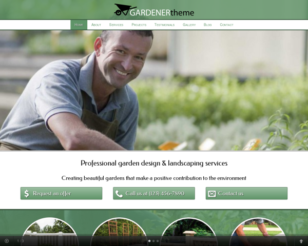 gardener_1280x1024_macbook Webdesign Vorlagen