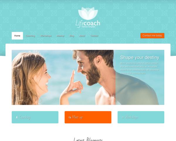 lifecoach-webdesign1 Webdesign Vorlagen