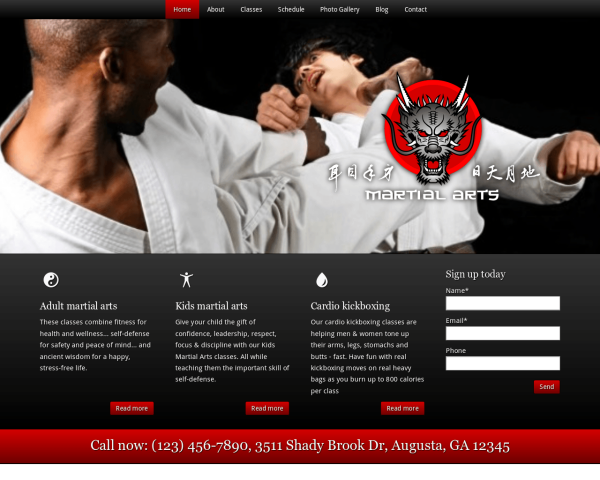 martialarts_1280x1024_macbook Webdesign Vorlagen