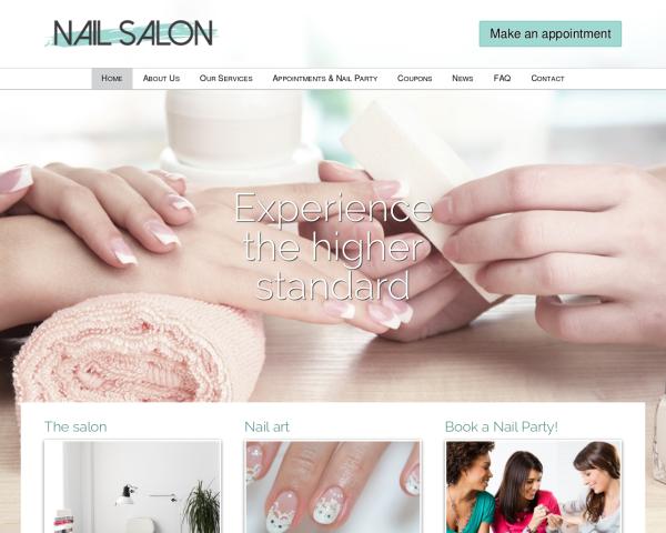 nagelstudio-webdesign1 Webdesign Vorlagen