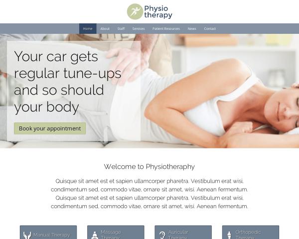 physiotherapieschweiz1 Webdesign Vorlagen