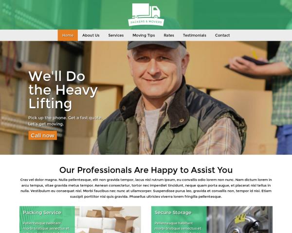 umzugfirma-webdesign Webdesign Vorlagen