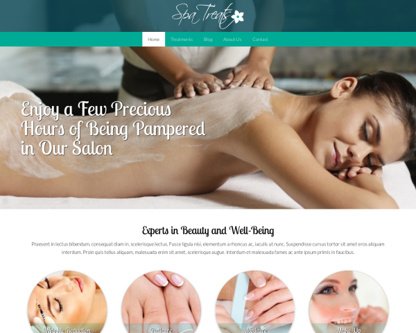 spa-wellness1 Webdesign Vorlagen