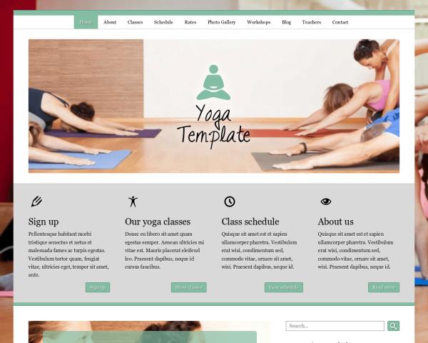 yoga-webdesign1 Webdesign Vorlagen